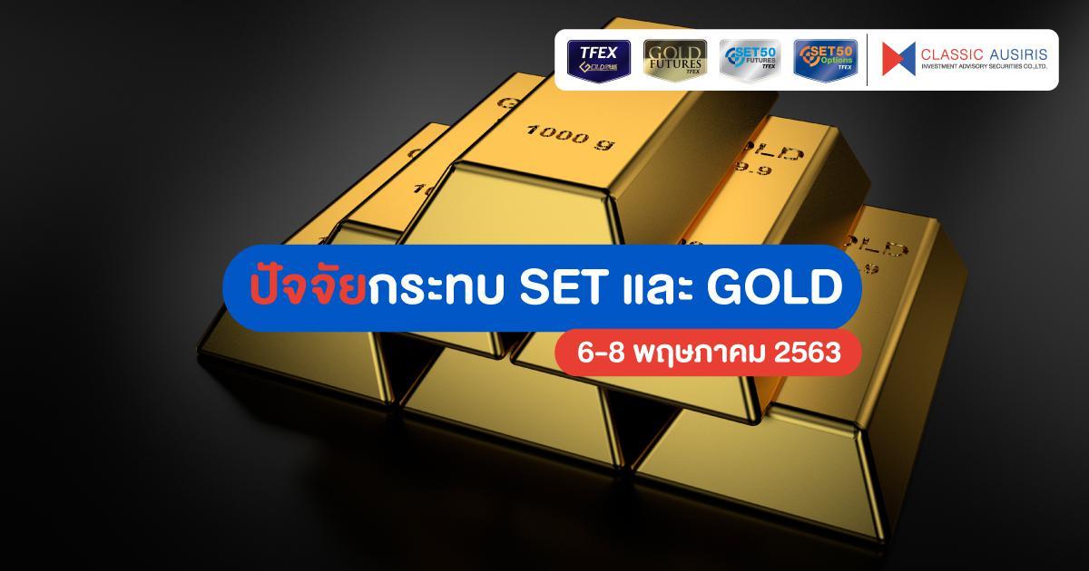 ปัจจัยกระทบ SET และ Gold สัปดาห์นี้ (6 – 8 พ.ค. 2563)