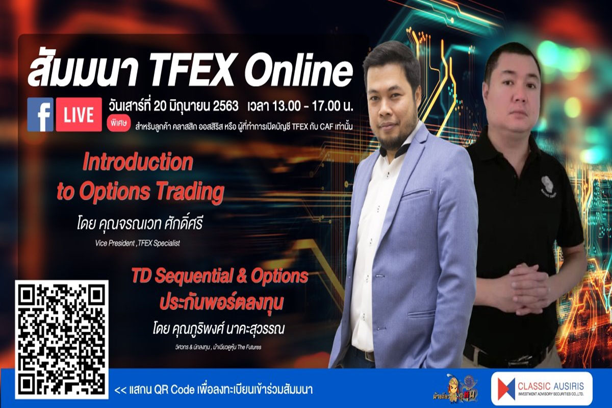 Introduction to Option Trading & TD Sequential & Options ประกันพอร์ตลงทุน